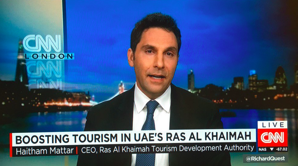 All Eyes On Ras Al Khaimah As Haitham Mattar, CEO Of Tourism Development Authority, Visits London