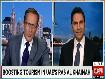 "CNN ""Boosting Tourism In The UAE's Ras Al Khaimah"""