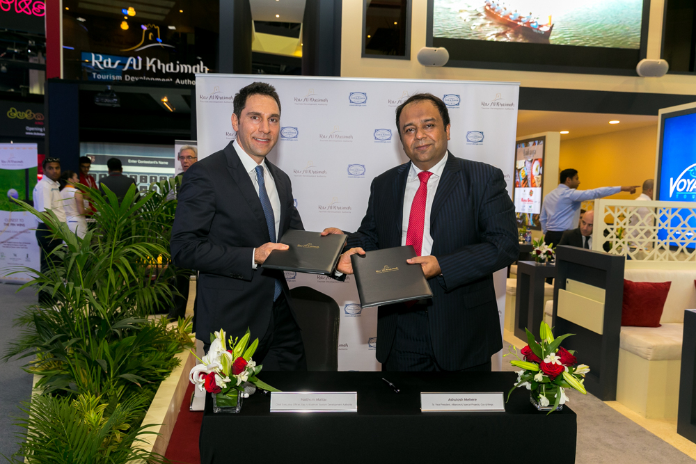 RAS AL KHAIMAH SIGNS AGREEMENT WITH COX & KINGS LTD TO INCREASE ARRIVALS FROM INDIA