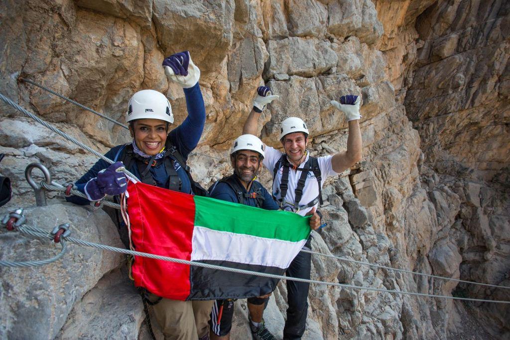 1. (L to R) Huda Zowayed, Hamad Al Mazrouey and Haitham Mattar - lowres