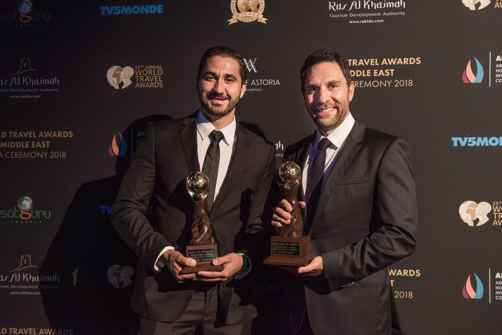 Ras Al Khaimah Honoured With Two World Travel Awards: Middle East's Leading Adventure Destination And Middle East's Leading Adventure Tourist Attraction 2018